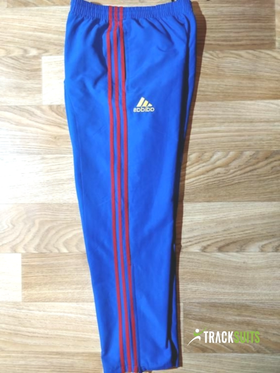 huge inventory for whole family wholesale sales Adidas Vintage Mens Tracksuit Pants Trousers Blue Red ...