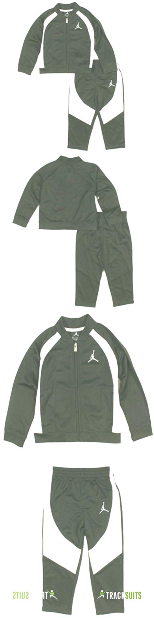 Nike Jordan Jumpman Little Boys Tracksuit Set Jacket and Pants Outfit