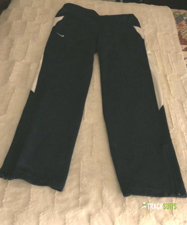 Women S Nike Tech Fleece Pants Tracksuit Bottoms Medium Navy Track Pants Jog Track Suits