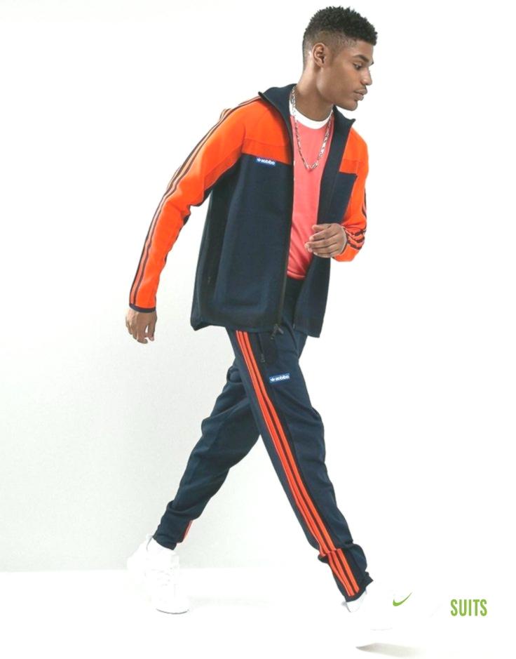 pueblo recurso renovable Rebobinar  adidas Originals Limited Edition Fully Knit Tracksuit Set in Legend Ink  BR6878   Track Suits