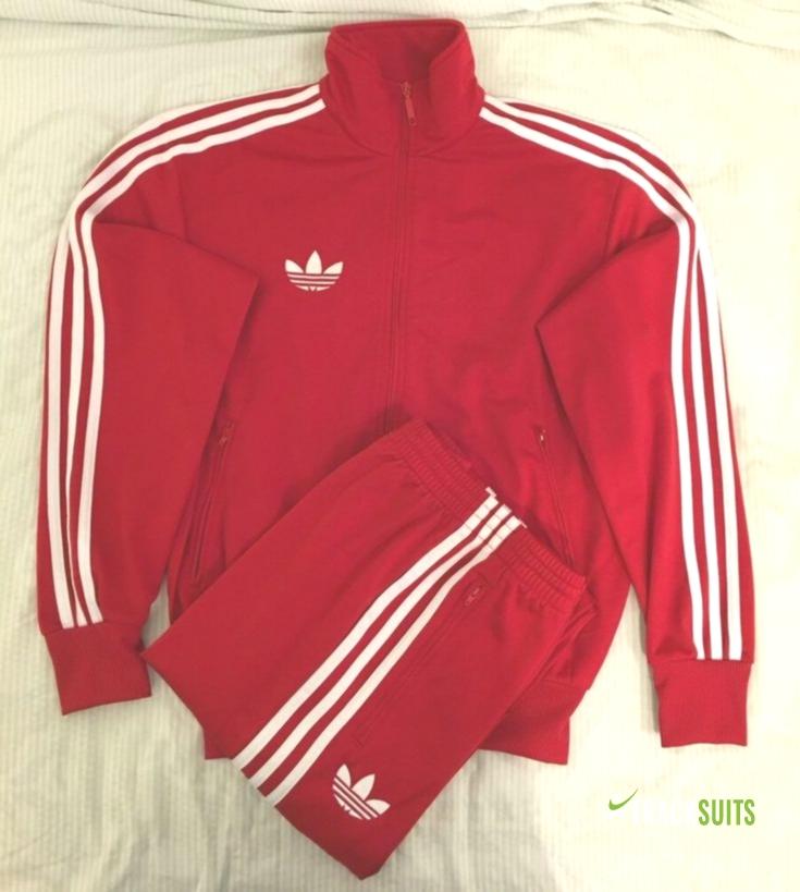 calibre Electricista Confusión  eBay Sponsored) Adidas Originals ADI-Firebird Tracksuit Red White Size M    Track Suits